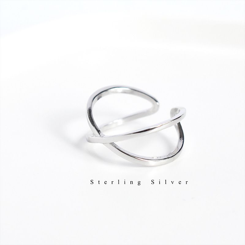 Vintage 925 Sterling Silver Cross Rings for Women Wedding Trendy Jewelry Large Adjustable Antique Rings Anillos