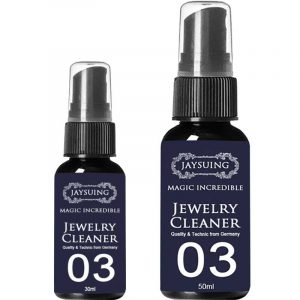 Jewelry Cleaner Cleaning Solution Tarnish Remover Stain-free Diamonds Gold Jewelry Clean Liquid