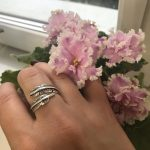 Retro High-quality 925 Sterling Silver Jewelry Thai Silver Not Allergic Personality Feathers Arrow Opening Rings photo review