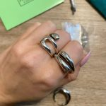 Minimalist 925 Sterling Silver Rings for Women Fashion Creative Hollow Irregular Geometric Birthday Party Jewelry Gifts photo review