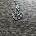 MUM Letters Love Mom Necklace Jewelry Heart Letter Pendant Necklace Mother Day Birthday Gift photo review